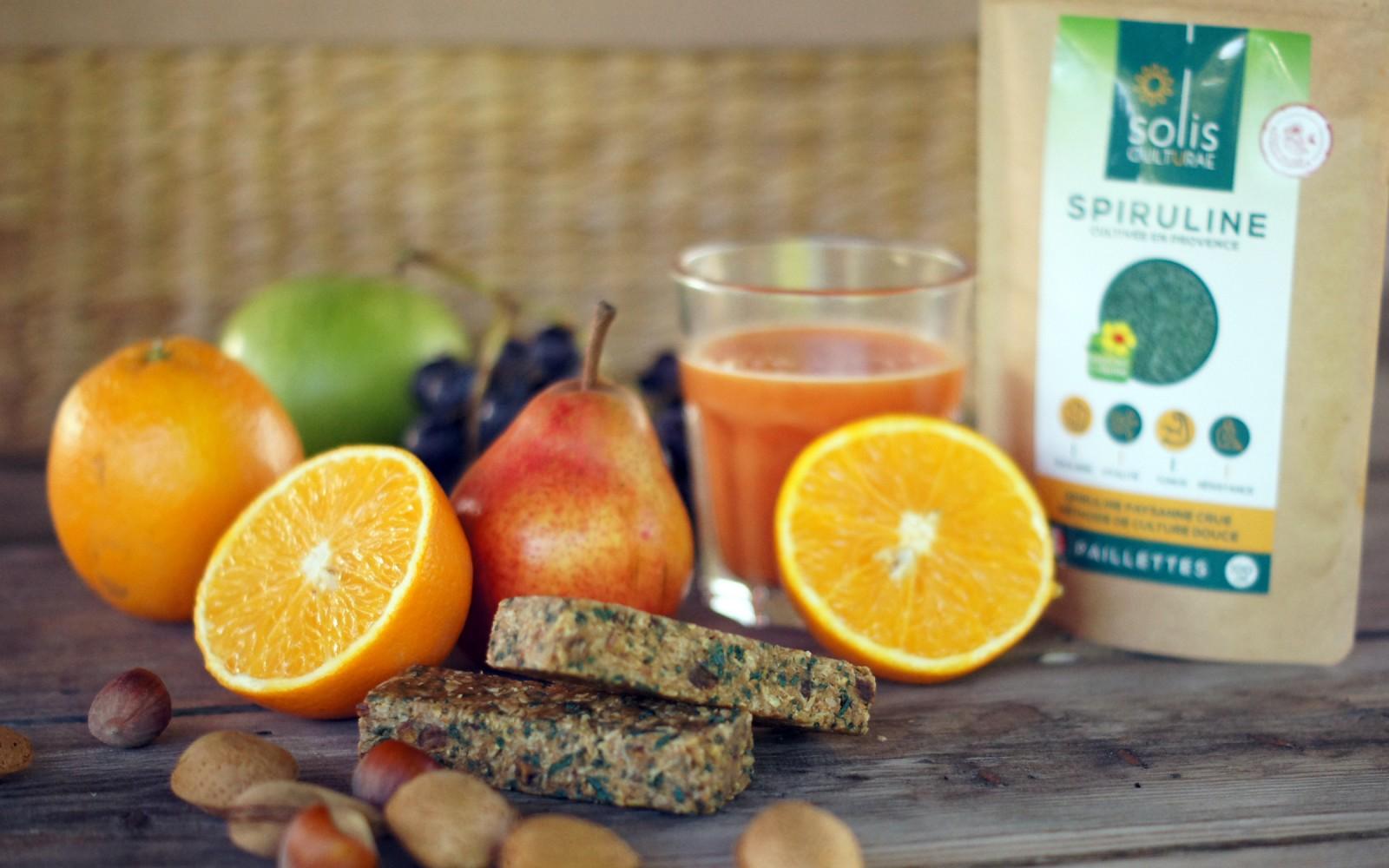Spiruline Solis Culturae, matin d'automne vitaminé