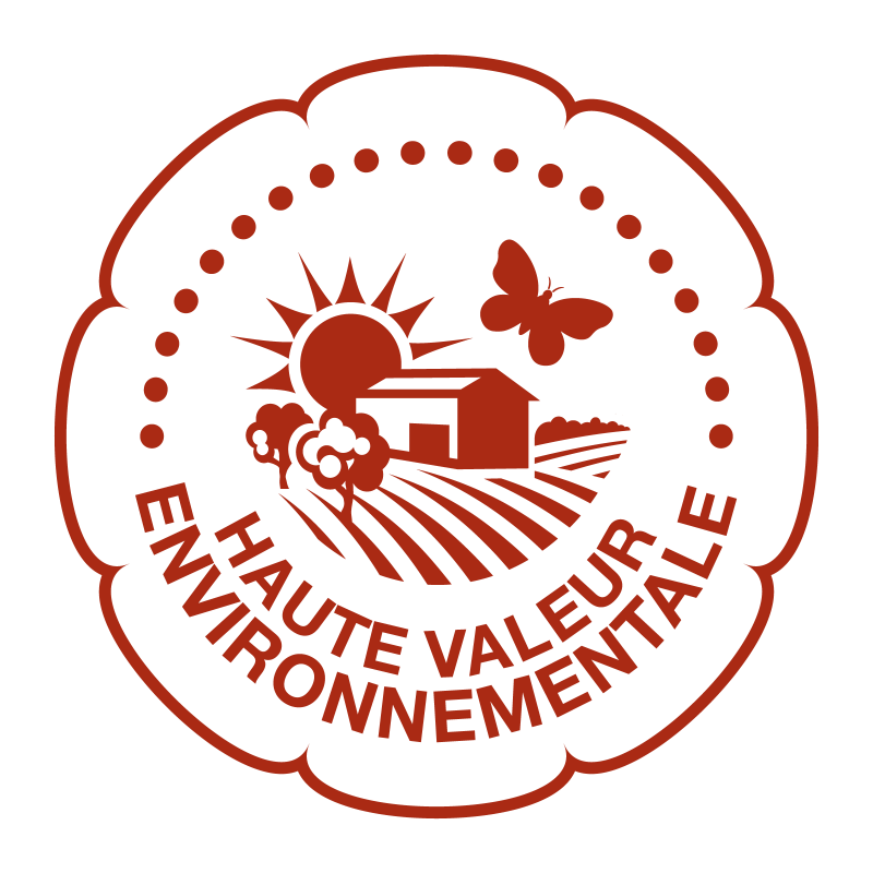 Logo HVE (label Haute Valeur Environnementale)